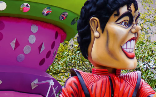 Char Mickael Jackson - Carnaval